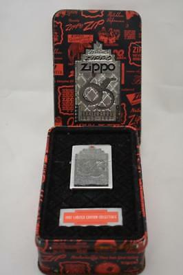 1997 65th Anniversary Zippo in tin, never used but seal is broken