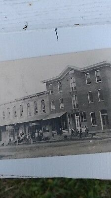 Panama ny postcard late 1800 downtown