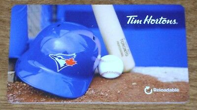2017 Tim Hortons TORONTO BLUE JAYS Reloadable Tim/Gift Card *Brand New,Unused*