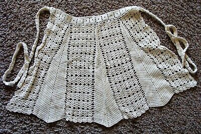 Hand Crocheted Ladies APRON