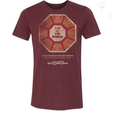 Disney's Contemporary Resort - Top Of The World T-Shirt - Limited Release - Xl