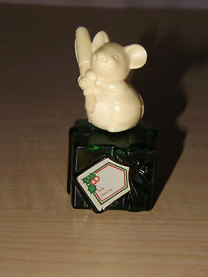 Fountain Pen mouse emerald green Christmas present Moonwind full Avon cologne