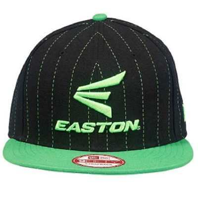 1fe2d2a10e0 Easton M10 New Era 9Fifty Snapback Pinstripe Flat Bill Baseball Hat A167 904
