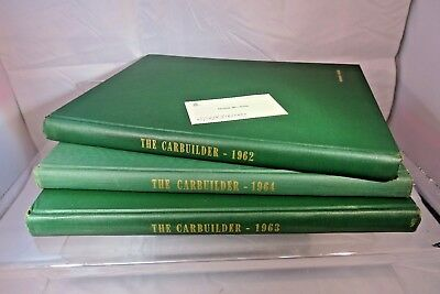 Pullman Standard Railroad Carbuilder Employee Newsletter Bounded Hardcover Book