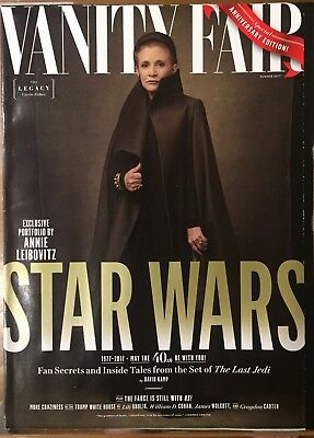 Vanity Fair Summer 2017 Star Wars: The Last Jedi The Legacy Leia (Carrie Fisher)