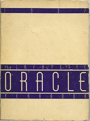 1937 Lafayette High School Buffalo NY Yearbook - ORACLE / Photos / Sports