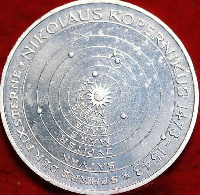 Uncirculated 1973 Germany 5 Mark Foreign Silver Coin