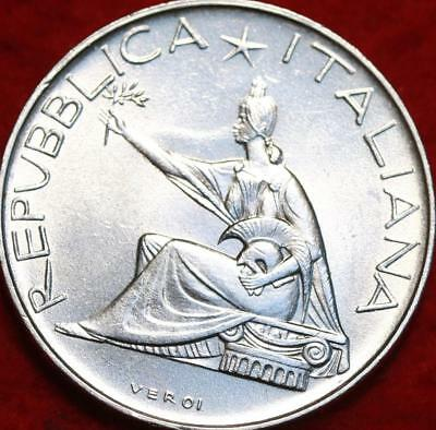 Uncirculated 1961 Italy 500 Lire Silver Foreign Coin