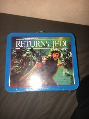 1983 Vintage Star wars Return of the jedi lunch box