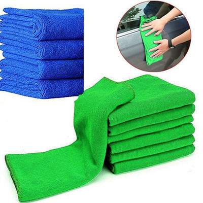 5pcs/Lot Absorbent Microfiber Cleaning Cloth Towel Auto Car Kitchen Home Wash