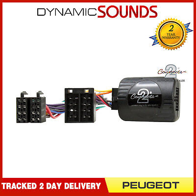 CTSPG006 Sony Stereo Steering Stalk Control Adaptor For PEUGEOT 206, 307, 406