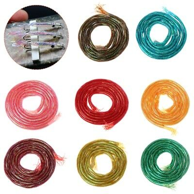 Fly Fishing Tying Material Hook Tube 4mm Diameter 6 Color Lure Mylar Accessories