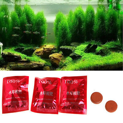 36pcs Water Plant Root Fertilizer Tablets Promote Water Plant Growth Fish Tank