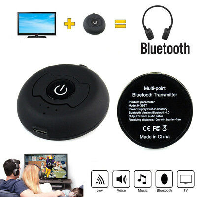 Wireless Bluetooth 4.0 A2DP Audio Transmitter Dongle Adapter for TV DVD MP3