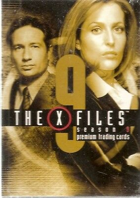 Inkworks X-Files Season 9 Base Card Set (90 cards) (2003)