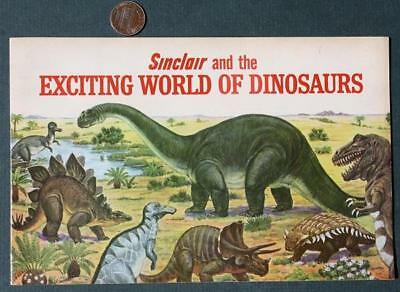 1967 Sinclair Gas & Oil Service Stations Exciting World of Dinosaurs comic book!