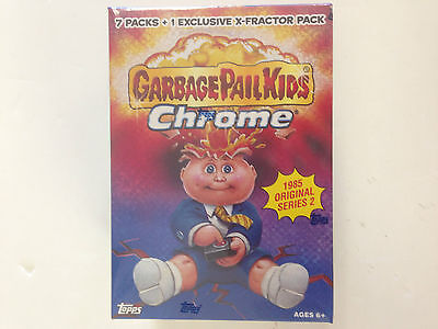 2014 Topps Garbage Pail Kids Chrome Series 2 Blaster Box ( 8 Packs )