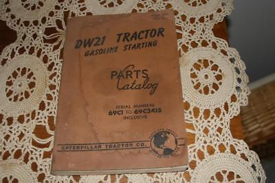 DW21  Tractor  Gasoline Starting Parts Catalogs. 69C1 TO 69C2415