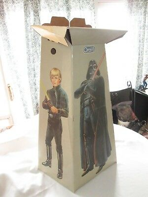 Vintage 1983 Return of the Jedi Oral B Toothbrush Store Display Standee Rare