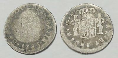 * AMAZING !! * COLONIAL SILVER COIN dated 1781 !!!