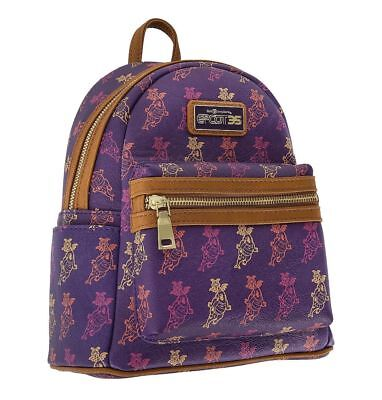 Disney Parks Epcot 35th Anniversary Figment Backpack New with Tags FREE SHIPPING