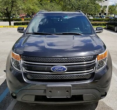 2012 Ford Explorer Limited Sport Utility 4-Door Used Car Ford Explorer 2012 Perfect Condition