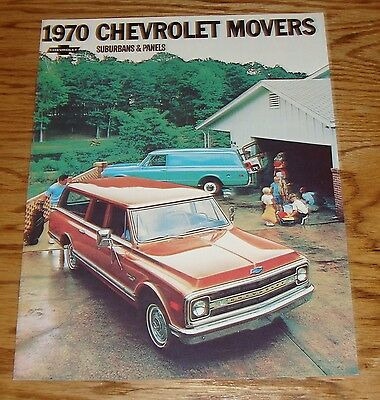 1970 Chevy Truck Owners Manual with Envelope 70 Pickup Blazer Suburban Chevrolet Manuals & Literature