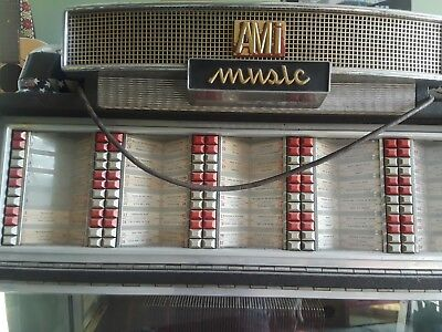 AMI G JUKEBOX OF 1955-1956. Did play but needs re-wiring.