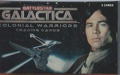 Battlestar Galactica Colonial Warriors Base Card Set (72 cards)