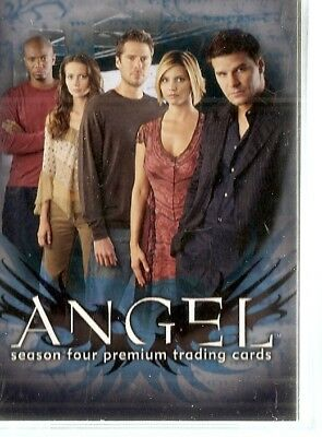 Angel Season 4  Base Card Set (90 cards) (2003 )