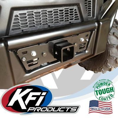 """KFI 2"""" Front Upper Receiver Tow Hitch / Grill For Polaris Ranger Pro-Fit 101080"""