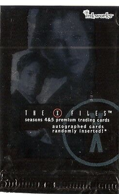 The X-Files Season 4 & 5   Base Card Set (90 cards) (2001)