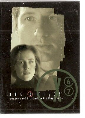 X-Files Season 6 & 7  Base Card Set (72 cards) (2005)
