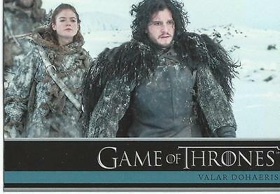 2014 Game of Thrones Season 3 Base Card Set (98 cards)