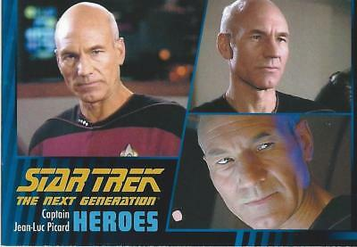 Star Trek TNG Heroes & Villains Base Card Set (100 cards)(2013)