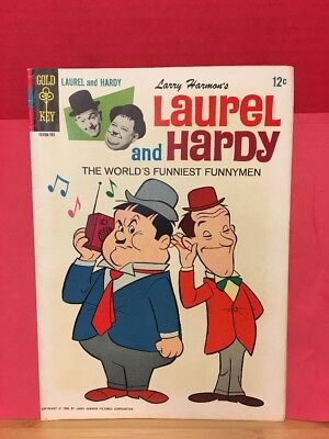 Laurel And Hardy #1 Gold Key Comic 1966 Larry Harmon Funnymen TV Show Nostalgia
