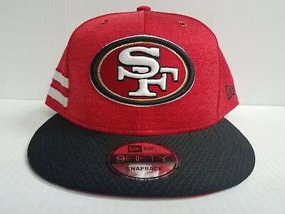 d9a8fdfe SAN FRANCISCO 49ERS New Era 2018 NFL Sideline Color Rush 9FIFTY ...