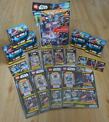 Lego Star Wars Serie 1 Booster Pantalla Starterpack Multipack Ampolla Completo