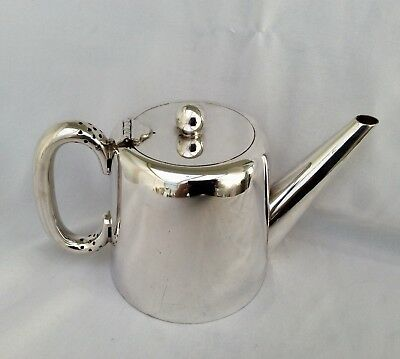 Antique WALKER & HALL Silver Plated HOTELWARE Quality 2 Pint Teapot C1922