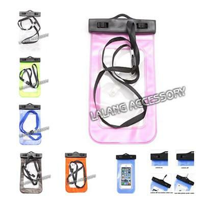 Waterproof Underwater Seal Pouch PVC Dry Bag Case Cover For Cell Phone D