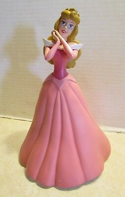 "Disney Store Princess Sleeping Beauty Aurora in Pink Dress 10 1/4"" Coin Bank"