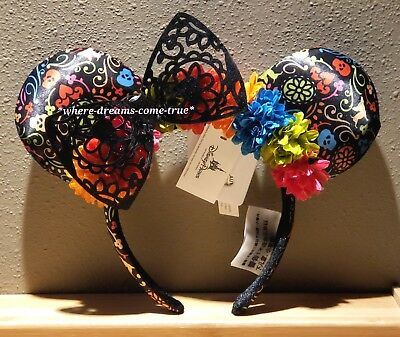 Disney Parks Minnie Mouse Ears Headband by Pixar's Coco Film (New with Tags)