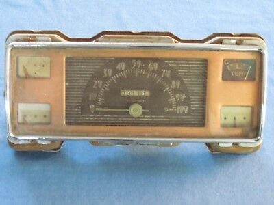 Vintage 1940 Ford  Pickup Cluster Instrument Panel