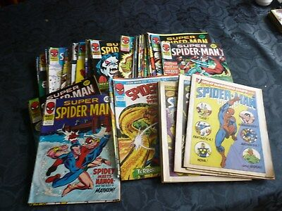 48 x SPIDER-MAN RELATED COMICS  - HOUSE CLEARANCE