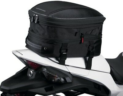 Nelson-Rigg CL-1060-S Sport - Motorcycle Tail Bag - Black