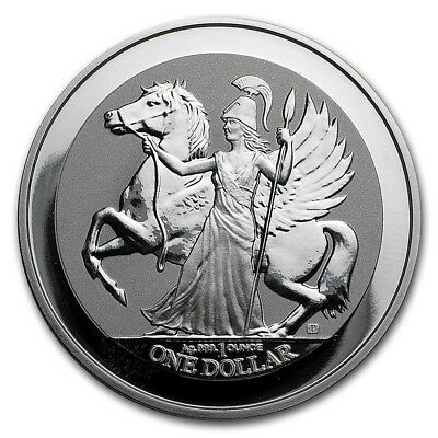 Wow~ 2017 ~ 1~Oz ~ Pure 999 Silver ~ Pegasus ~ Reverse Frosted Proof Coin ~$9.99