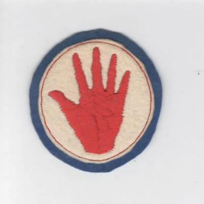 """WW 1 US Army 93rd Division 2-3/4"""" Patch Inv# C152"""