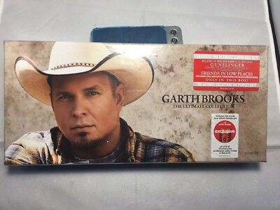 """Garth Brooks TARGET EXCLUSIVE 10 CD Box Set """"THE ULTIMATE COLLECTION"""" New In Box"""