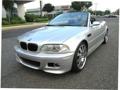 "M3  2002 BMW M3 Convertible SMG 19"" Wheels Loaded Super Clean Rare Find Must See"