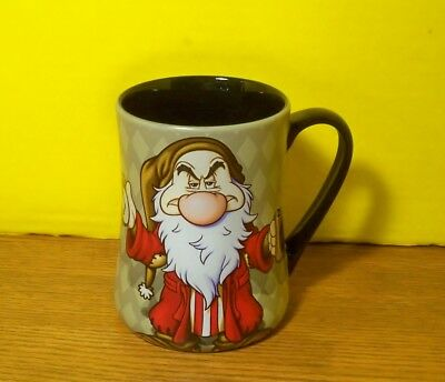 DISNEY Parks Exclusive GRUMPY Mug I HATE Mornings 16oz